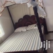 A Bed With Headboard And Mosquito Net Frame   Furniture for sale in Nairobi, Embakasi