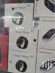 Y1 - Smart Watch With M-pesa Menu,Bluetooth 3.0 280mah  Black | Smart Watches & Trackers for sale in Nairobi, Nairobi Central