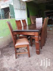 6 Seater Dinning Table Made Of Mahogany Wood   Furniture for sale in Nairobi, Embakasi