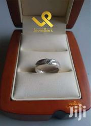 Genuine Silver Unisex Wedding Band Ring | Jewelry for sale in Nairobi, Lower Savannah