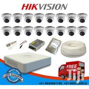 Hikvision 7100 Series 16 Channel DVR 16 CCTV 700TVL IR Dome Cameras | Security & Surveillance for sale in Nairobi, Nairobi Central