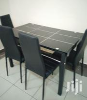 4 Seats Checked Dining Set | Furniture for sale in Nairobi, Hospital (Matha Re)