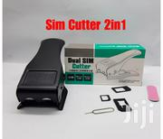 Dual 2 In 1 Micro Sim Cutter With Nano Phone SIM Card Adapter | Accessories for Mobile Phones & Tablets for sale in Nairobi, Nairobi Central