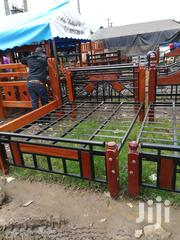 4 By 6 Metals Wood Bed | Furniture for sale in Nairobi, Ngando