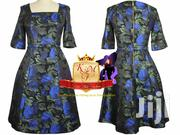 Jacquard Floral Skater Dress Made In UK. | Clothing for sale in Nairobi, Mugumo-Ini (Langata)