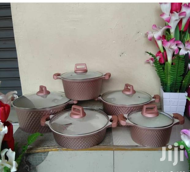10pcs Nonstick Granite Cookware Set