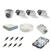 Hikvision Full HD 2MP 4 CCTV Camera And 4 Channel DVR Kit | Security & Surveillance for sale in Nairobi, Nairobi Central
