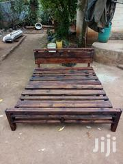 Rustic Bed With Barrier | Furniture for sale in Nairobi, Roysambu