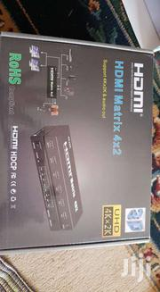 Hdmi 4x2 Matrix Switcher / Splitter With Remote Controller, Support Ar | Computer Accessories  for sale in Nairobi, Nairobi Central