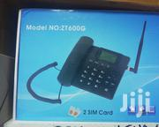 ZT 600g Desktop Phone Twin Sim With Fm | Home Appliances for sale in Nairobi, Nairobi Central