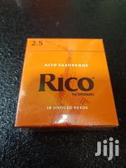 D'addario Rico Alto Sax Reeds, Strength 2.5, 10-pack | Musical Instruments for sale in Nairobi, Nairobi Central
