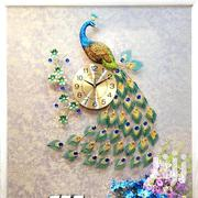 Peacock Decor Clock | Home Accessories for sale in Nairobi, Nairobi West