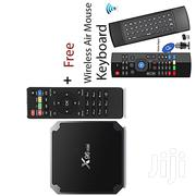X96 Mini TV Box 2gb Ram 32gb Rom + Wireless Air Mouse Keyboard | Computer Accessories  for sale in Nairobi, Nairobi Central