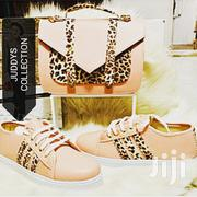 Ladies Set Collection (Handbag + Trendy Casual Sneakers) | Shoes for sale in Mombasa, Tudor