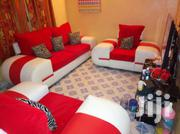 Sofa Five Seater Made Of Leather Nd Sued | Furniture for sale in Nakuru, Flamingo