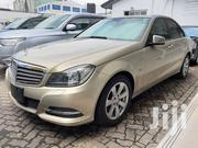 New Mercedes-Benz C200 2012 Gold | Cars for sale in Mombasa, Shimanzi/Ganjoni