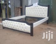 Black And White 5*6 Bed | Furniture for sale in Kajiado, Ongata Rongai