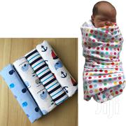 4PACK Top Quality Newborn Baby Boy Flannels Multi Use Cotton Shawls | Baby & Child Care for sale in Nairobi, Kasarani