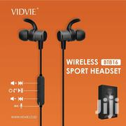VIDVIE Sport Wireless Earphones BT810 Bluetooth Headsets Handsfree | Accessories for Mobile Phones & Tablets for sale in Nairobi, Nairobi Central