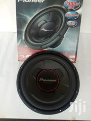 """Pioneer 12"""" 1300W Subwoofer With IMPP Cone. - TS-W306R 