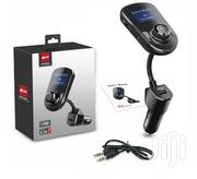Car Bluetooth FM Transmitter With USB And Memory Card Slot | Vehicle Parts & Accessories for sale in Mombasa, Mkomani