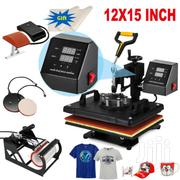 New 5 IN 1 Combo T-shirt Heat Press Transfer Printing Machine | Printing Equipment for sale in Nairobi, Nairobi Central