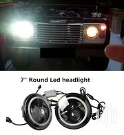 LED Headlamps For Landrover Defender With With Amber Halo Indicators | Vehicle Parts & Accessories for sale in Nairobi, Nairobi Central