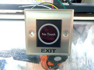 No Touch Exit Button