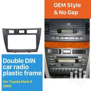 DOUBLE DIN 2005 TOYOTA MARK II CAR RADIO FASCIA  PANEL AUDIO PLAYER TR | Vehicle Parts & Accessories for sale in Nairobi, Nairobi Central