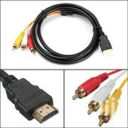 HDMI To 3RCA Cable | TV & DVD Equipment for sale in Nairobi, Nairobi Central
