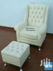Wingback Chair/Wingchair+Ottoman | Furniture for sale in Nairobi, Ziwani/Kariokor