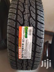 Maxxis Bravo Tyres 245/70-16"