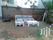 5 Seater Outdoor And Indoor Pallets Sofa And Table Set | Furniture for sale in Kiambu, Theta