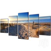 5PCS Beach Canvas Prints Framed Painting Pictures Wall Art Home Decor | Home Accessories for sale in Nairobi, Karen