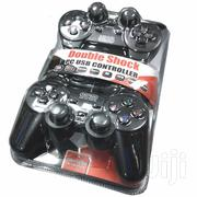 Twin USB Double Shock Controller Game Pad Joystick | Video Game Consoles for sale in Nairobi, Nairobi Central