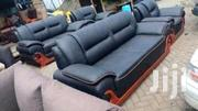 Black Leather Seat 7 Seater | Furniture for sale in Kiambu, Township E