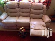 6 Seater Clean Leather Seat | Furniture for sale in Nairobi, Nyayo Highrise