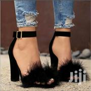 Party Women Pumps Chunky Block Ankle Strap Heels | Shoes for sale in Nairobi, Nairobi Central