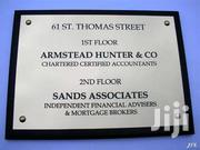 Aluminium Plaques And Signs | Other Services for sale in Nairobi, Nairobi Central