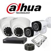 Dahua 4 CCTV Cameras (Night Vision) Complete Security System | Security & Surveillance for sale in Nairobi, Nairobi Central