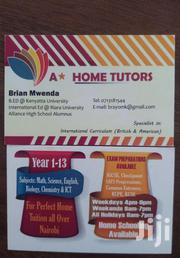 Kcse Kcpe Igcse As And A Level Math English And Science Tutor   Child Care & Education Services for sale in Nairobi, Westlands