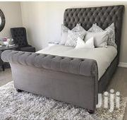 Nice Upholsterd Bed | Furniture for sale in Mombasa, Tudor