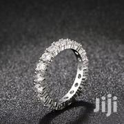 Silver Engagement Ring With White Sapphire | Jewelry for sale in Nairobi, Nairobi Central