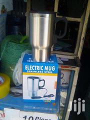 Portable Car/Home/Office Stainless Steel Electric Car Coffee/Tea Mug | Vehicle Parts & Accessories for sale in Nairobi, Lower Savannah