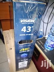 Vision 43 Inches Smart Android 4k Tv   TV & DVD Equipment for sale in Nairobi, Nairobi Central