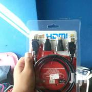 3 In 1 HDMI TO HDMI, Mini HDMI Micro HDMI Cable Adapter Converter | Accessories & Supplies for Electronics for sale in Nairobi, Nairobi Central