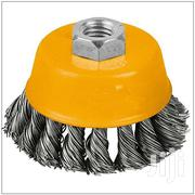 CUP TWIST WIRE BRUSH WITH NUT | Manufacturing Materials & Tools for sale in Nairobi, Viwandani (Makadara)