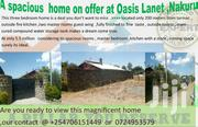 SPACIOUS  3 BEDROOM HOME NAKURU LANET ,AT OASIS. | Houses & Apartments For Sale for sale in Nakuru, Lanet/Umoja
