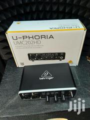 Soundcard Studio Audio Interface Behringer Umc202 | Audio & Music Equipment for sale in Nairobi, Nairobi Central