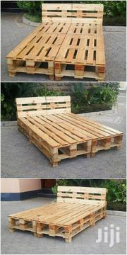 Simple Modern 5by6 Pallet Bed | Furniture for sale in Nairobi, Ngara
